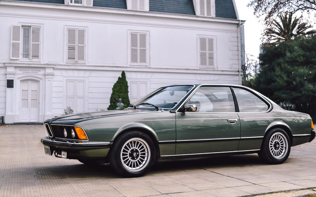 Gabriel and his BMW, one of the best 635CSi in Argentina!