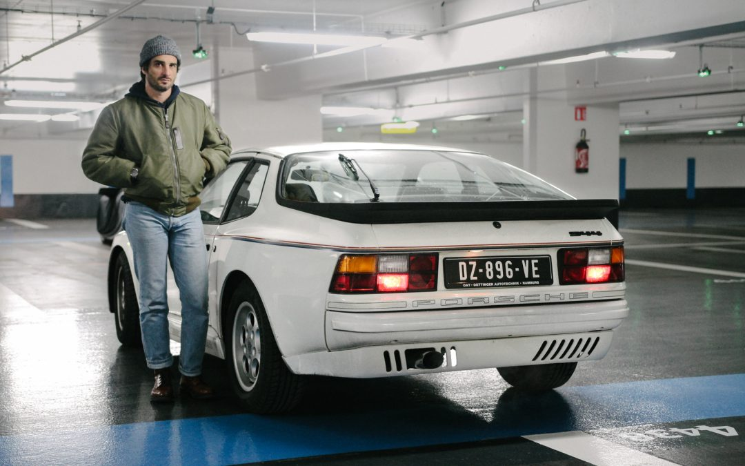 Olivier and his Porsche 944 Rothmans – A Limited Edition N°036 of 100